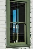 Latarni morskiej okno Zdjęcie Stock