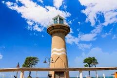 Latarni morskiej Pattaya miasto obrazy royalty free