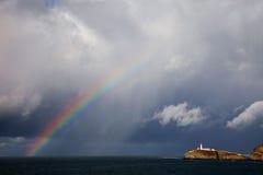 latarni morskiej południe sterta Zdjęcie Stock