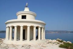 latarni morskiej st Theodoros Zdjęcia Royalty Free