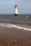 latarni morskiej talacre Fotografia Royalty Free