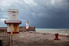 Latarni morskiej UK Północny Fotografia Royalty Free