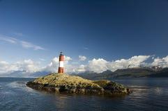 latarni morskiej ushuaia Fotografia Royalty Free