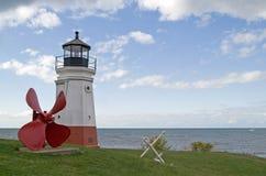 latarni morskiej vermilion Obraz Royalty Free