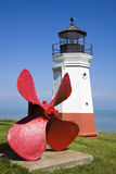 latarni morskiej vermillion Obraz Stock