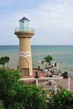 Latarni morskiej wierza, Pattaya miasto Fotografia Royalty Free