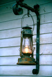 latarnia świeciło Obraz Stock