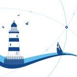 latarnia morska Obraz Royalty Free