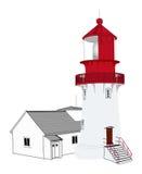 latarnia morska ilustracja wektor
