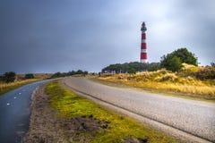 Latarnia morska Ameland obraz royalty free