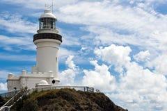 Latarnia morska Byron zatoka Zdjęcia Royalty Free