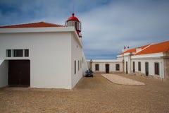 Latarnia morska Cabo De Sao Vincente, Sagres, Algarve, Portugalia Obraz Royalty Free