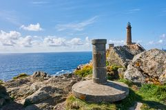 Latarnia morska Cabo Vilan zdjęcie royalty free