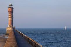 Latarnia morska - Dunkerque, Francja obraz royalty free