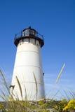 latarnia morska edgartown zdjęcia stock
