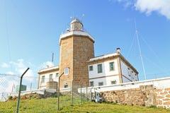 Latarnia morska Finisterre, Hiszpania Obrazy Stock
