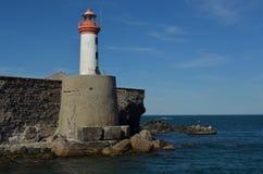 Latarnia morska fort Brescou Obrazy Stock