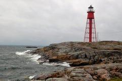 Latarnia morska Häradsskär, Szwecja obrazy royalty free