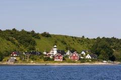 Latarnia morska Haken na wyspie Ven Obrazy Stock