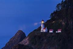 latarnia morska heceta głowy Fotografia Stock