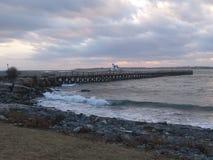 Latarnia morska Kittery, JA zdjęcie stock