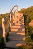 latarnia morska kroków Zdjęcie Stock