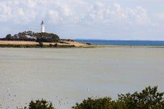 Latarnia morska Langeland Fotografia Royalty Free
