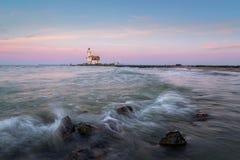 Latarnia morska Marken Zdjęcia Royalty Free