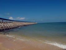 Latarnia morska na morzu Fotografia Stock