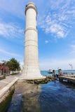 Latarnia morska na Murano wyspie w Wenecja Zdjęcia Royalty Free