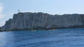 Latarnia morska na Wysokiej falezie zdjęcie wideo