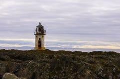 Latarnia morska na wyspie Buet fotografia royalty free
