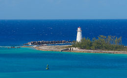 latarnia morska Nassau Zdjęcie Stock