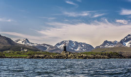 latarnia morska Norway Zdjęcia Royalty Free
