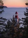 Latarnia morska Parkowy Zachodni Vancouver obraz stock