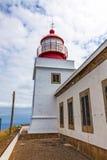 Latarnia morska Ponta robi Pargo obrazy stock
