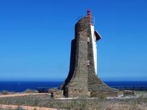 latarnia morska przegapia błękitnego horyzont obrazy royalty free