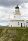 Latarnia morska przy Chanonry punktem - Szkocja zdjęcie royalty free