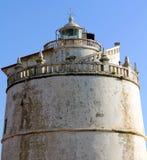Latarnia morska przy fortem Aguada, India Obrazy Stock