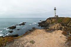 Latarnia morska przy Gołębim punktem Zdjęcie Royalty Free
