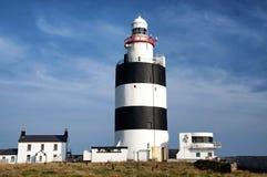Latarnia morska przy haczyk głową w Irlandia zdjęcia royalty free