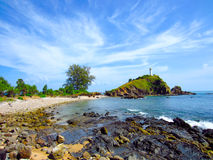 Latarnia morska przy Lanta wyspą Fotografia Royalty Free