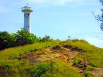 Latarnia morska przy Lanta wyspą Obrazy Royalty Free