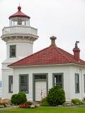 Latarnia morska przy Mukilteo Zdjęcie Royalty Free