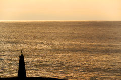 Latarnia morska przy popołudniem Obrazy Royalty Free