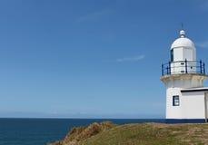 Latarnia morska przy Portowym Macquarie Australia Zdjęcia Stock