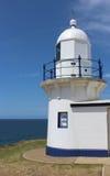 Latarnia morska przy Portowym Macquarie Australia Obrazy Royalty Free