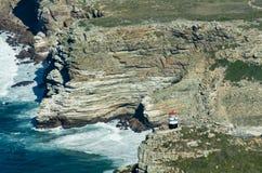 Latarnia morska przy przylądkiem Dobra nadzieja Fotografia Royalty Free