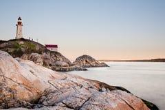 Latarnia morska przy punktem Atkinson Zdjęcia Royalty Free