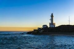 Latarnia morska przy punktem Lonsdale Zdjęcia Royalty Free
